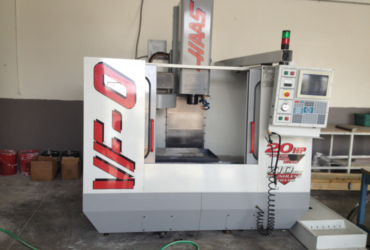 CNC machine tool installation